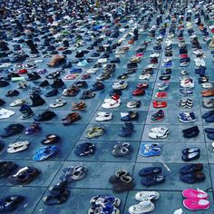 #PositiveNews: March For Peace. March For The Climate. #ClimateMarch in #Paris #France! #COP21  Pairs of shoes are symbolically placed on the Place de la Republique after the cancellation of a planned climate march following shootings in the French capital ahead of the World Climate Change Conference 2015 (COP21). @Reuters  French police fired teargas Sunday to disperse climate change activists in Paris who threw objects at them during a demonstration ahead of key U.N. talks AFP reporters…