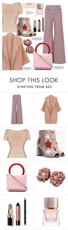 """Untitled #1193"" by pesanjsp ❤ liked on Polyvore featuring Hellessy, Alice + Olivia, Marni, Bobbi Brown Cosmetics and Burberry"