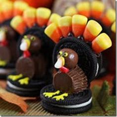 cute crafty snacks for halloween and thanksgiving