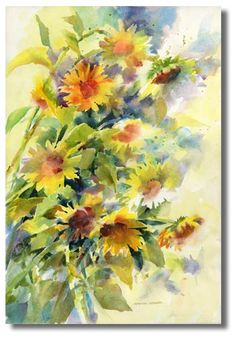 watercolor...I love this