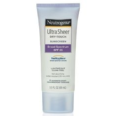 Neutrogena Ultra Sheer Dry-Touch Sunscreen, $8.99   13 Must-Have Skincare Products For Ladies In Their Late Twenties