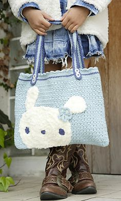 cartera infantil-- this looks like Zane's favorite bunny omgoodness