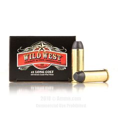 Sellier and Bellot 45 Long Colt Ammo - 50 Rounds of 250 Grain LFN Ammunition #45LongColt #45LongColtAmmo #SellierandBellot #SellierandBellotAmmo #SellierandBellot45LongColt #LFN #WildWest