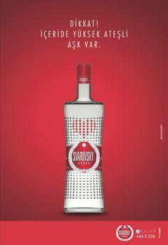 Svarovsky - Dikkat! İçeride Yüksek Ateşli Aşk Var.