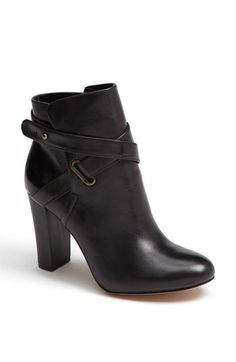 My advice for a great pair of black booties is to pick leather, not suede, with a black heel (not a stacked wood heel) and not a wedge. A heel that isn't too high, a toe that isn't too pointy, and not a ton of detail so it is not too limiting. Sole Society 'Kaila' Bootie | Nordstrom