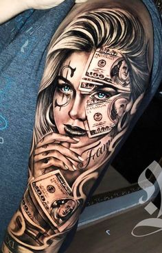 80 photos of male arm tattoos Skull Girl Tattoo, Girl Face Tattoo, Girl Arm Tattoos, Arm Sleeve Tattoos, Tattoo Sleeve Designs, Arm Tattoos For Guys, Body Art Tattoos, Clown Tattoo, Male Hand Tattoos