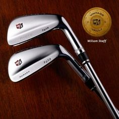 """May The # naming WS blades reflects Major wins. Why do you think the Fg 58 didn't launch but the Fg 59 did?,"""" said Wilson Golf ( Wilson Golf), giving us an interesting history lesson. Golf R Mk7, Wilson Golf, Ryder Cup, Club Design, Putt Putt, American Sports, Golf Lessons, Interesting History, Golf Bags"""