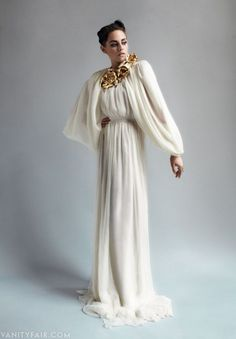 Photos: Kristen Stewart Models Parisian Couture in Vanity Fair   Hollywood   Vanity Fair