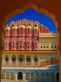 Hawa Mahal (Palace of Winds) Jaipur. India. about india tourism | best tourist places | top tourist places | travel agent for india