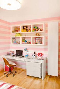 Image result for quarto com nichos feminino