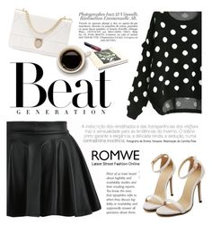 """""""Beat generation"""" by karicarmina ❤ liked on Polyvore featuring Revlon, women's clothing, women, female, woman, misses and juniors"""