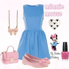 """""""Minnie Mouse"""" by nardeenelsokkary on Polyvore"""