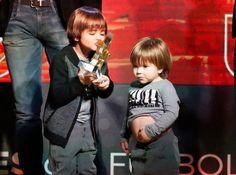 Los alocados hijos de Shakira y Piqué les quitaron todo el protagonismo a sus padres en este evento