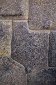 ANIM - 8 sided stone inca ollantaytambo cuzco peru
