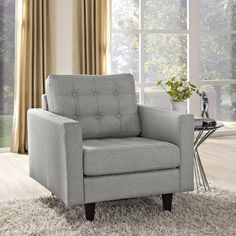 Modway Empress Arm Chair & Reviews | Wayfair