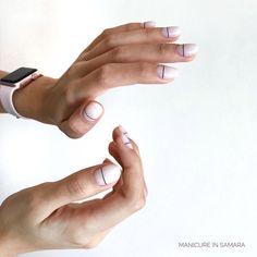 """МАНИКЮР ПЕДИКЮР ОБУЧЕНИЕ on Instagram: """"Любимый минимализм 🖤 ⠀ ⠀ В начале декабря увидимся с вами уже в студии, над названием которой я денно и нощно размышляю. А пока я жду,…"""" Simple Nail Designs, Simple Nails, Silver Rings, Plain Nails, Simple Nail Design, Easy Nails"""