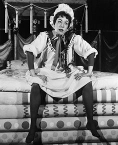 Carol Burnett - Originated the role of Fred in Once Upon A Mattress  Brilliant woman » I have loved this lady since the very first moment I saw her. She has inspired me to keep laughing. She is as classy a lady as one can be, a true inspiration.