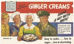 Betty Crocker, World War II: Make a hit with men!