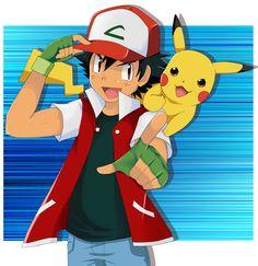 Ash and Pikachu by SkyDrew.deviantart.com on @DeviantArt