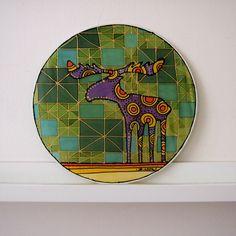los na louce | Ateliér B. KIOW Plates, Tableware, Atelier, Licence Plates, Dishes, Dinnerware, Griddles, Tablewares, Dish