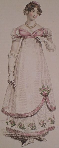 Regency ball gowns | Fabrics for Danceable Regency Ball Gowns — Historical Sewing |19th C ...
