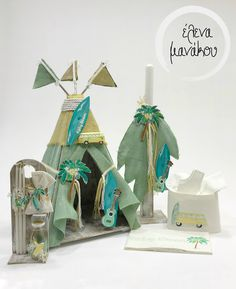 BABY BLOOM TEEPEE Κωδικός προϊόντος: A18-029  Βαπτιστικό κουτί σκηνή 160€ Λαμπάδα βάπτισης 75€ Λαδοσέτ 50€ Λαδόπανο 100€  #elenamanakou #newcollection #2018 #handpainted #handmade #vaptisi #baptism #christening #woodenbox #box #candle #madeingreece #baby #boy #babyboy #godmother #godfather #special #teepee #beach #surf #babybloom #costummade #personalizedbaptism #βάπτιση #κουτί #κουτίβάπτισης #λαμπάδα #νονός #νονά #χειροποίητες_δημιουργίες
