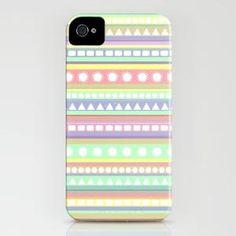 Pastel Pattern iPhone Case by Romi Vega | Society6