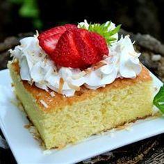 Pastel de Tres Leches (Kuchen mit drei Sorten Milch)