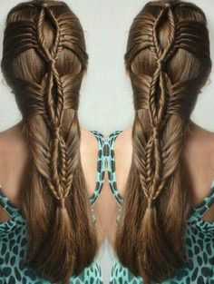 Long-haired women are fortunate that long hair is always trendy and there are so many options when it comes to styling. Different hairstyles can be made with long hair for different occasions and… Pretty Hairstyles, Braided Hairstyles, Holiday Hairstyles, Braided Updo, Hairstyle Ideas, Bob Hairstyle, Reign Hairstyles, Stylish Hairstyles, Ethnic Hairstyles