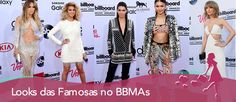 Looks das famosas no Billboard Music Awards