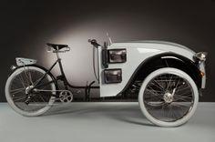 Agnelli baute das Fahrrad mit viel Liebe zum Detail: Graue 26-Zoll-Reifen...