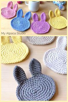 Crochet For Easter, Easter Bunny Crochet Pattern, Crochet Rabbit, Holiday Crochet, Crochet Gifts, Easy Things To Crochet, Crochet Ideas To Sell, Free Crochet Patterns For Beginners, Diy Crafts To Sell