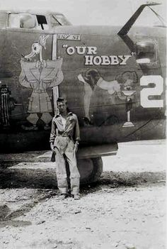 "B-24 Liberator"" Our Hobby"" a B-24H -20-CF,  Serial No. 42-50303:"