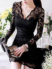 Платье-мини женское с кружевами – RUB p. 513,85