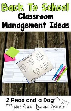 Back to school classroom management tips and resources from the 2 Peas and a Dog blog.