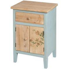 Upcycled Vintage Bedside Cabinet Interior Design