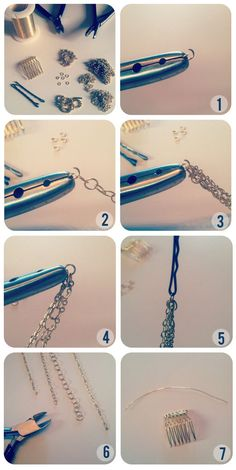 DIY Hair Necklace