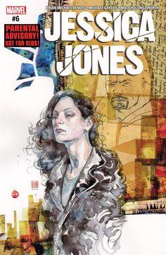 Jessica Jones (2016) #6 #Marvel @marvel @marvelofficial #JessiceJones (Cover Artist: David Mack) Release Date: 3/8/2017