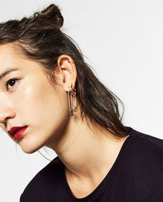 Pack Of Safety Pin Earrings