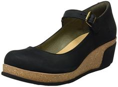 d4018eba4 El Naturalista Women s N5004 Pleasant Leaves Mary Jane Wedges  Amazon.co.uk   Shoes   Bags