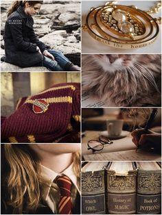 My Hermione collage! All my original!