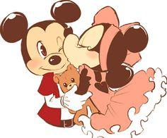 Minnie y mikie!!