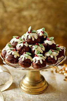Unbelivably good chocolate Christmas desserts!