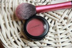 Your Face, My Canvas.: MAC Pro Longwear Blush - Stubborn. I absolutely love this blush it has an amazing plum color great for fall!