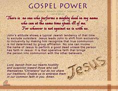 Gospel Power EASTER 7C – Wednesday