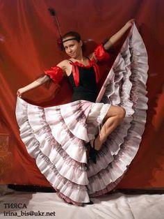 Танцы костюмы канкан