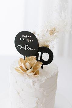 3D Cake Topper Happy Birthday 'Anton' schwarz Sag Ja, Anton, Happy Birthday, Cake Toppers, Place Cards, Place Card Holders, 3d, Invitations, Birth