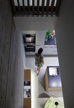 Interior Design for Duplex Penthouse Apartment by Pitsou Kedem Architects