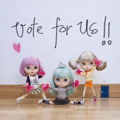 """""""Give us a V give us an O give us a T give us an E!! VOTE FOR US!!! There are only five days left to finish voting for """"Iger of the year"""" in Spain and we are still the only dolly account nominated  however we are now the 7th of the list and we need your dolly help because people on top have hundreds of thousands of followers and we are a little account. So if you like our dolly world please help us how? 1 - Visit the link in our bio 2 - Log in with your Facebook or Twitter account. 3 - Once…"""