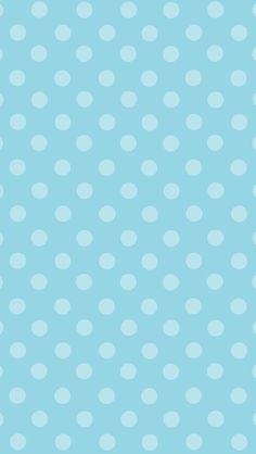 Dots bleu pâle